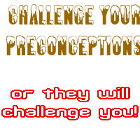 Challenge Your Preconceptions