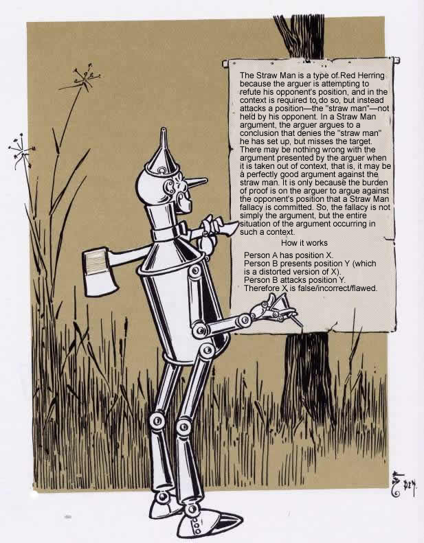 A look at what the tin man repersents in the wizard of oz